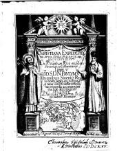 De Christiana Expeditione Apud Sinas Suscepta Ab Societate Jesu