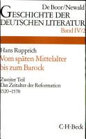 Geschichte der deutschen Literatur von den Anf  ngen bis zur Gegenwart PDF