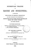 A rudimentary treatise on masonry and stonecutting   With  Plates PDF
