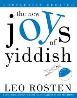The New Joys of Yiddish PDF