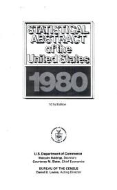 Statistical Abstract of the United States: Volume 101