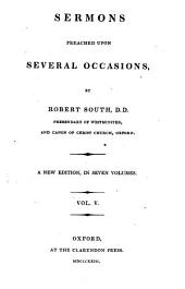 Sermons Preached Upon Several Occasions: Volume 5