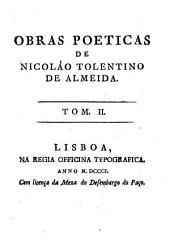 Obras poeticas: Volume 2