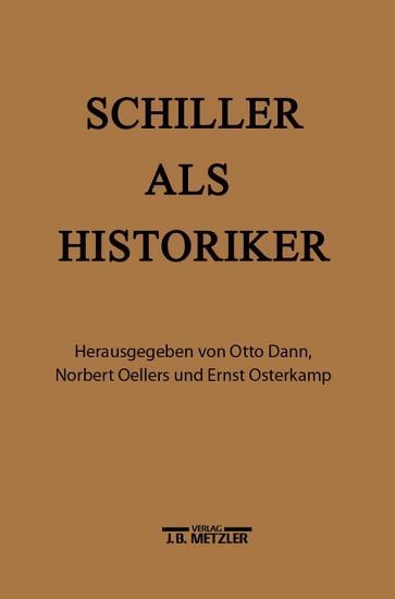 Schiller als Historiker PDF