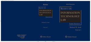 Scott on Information Technology Law PDF