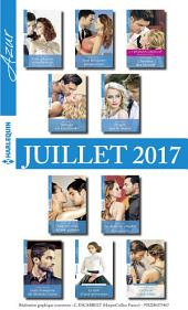 10 romans Azur + 1 gratuit (no3845 à 3854 - Juillet 2017)