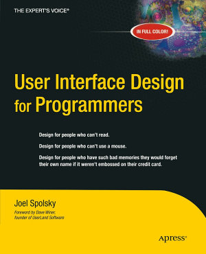 User Interface Design for Programmers PDF