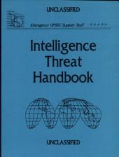 Intelligence Threat Handbook