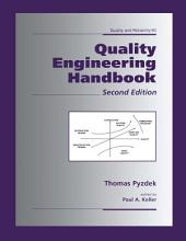 Quality Engineering Handbook: Edition 2
