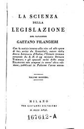 La Scienza Della Legislazione