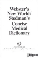 Webster s New World Stedman s Concise Medical Dictionary PDF