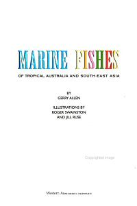 Marine Fishes of Tropical Australia and South East Asia PDF