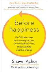 Before Happiness Book PDF