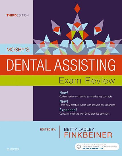 Mosby s Dental Assisting Exam Review   E Book PDF