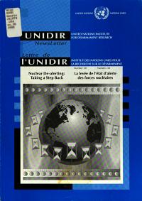 Lettre de L UNIDIR PDF