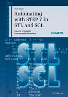 Automating with STEP 7 in STL and SCL PDF