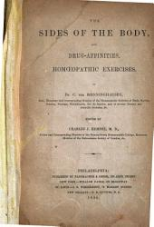 The Sides of the Body and Drug Affinities: Homoeopathic Exercises