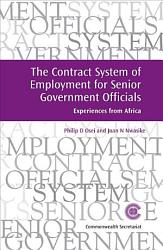 The Contract System Of Employment For Senior Government Officials Book PDF