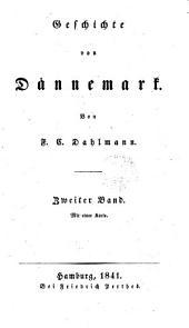 Geschichte von Dännemark, Bd. 1-5.(Bd. 4,5 von D. Schäfer).