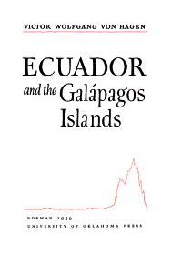 Ecuador and the Gal  pagos Islands PDF