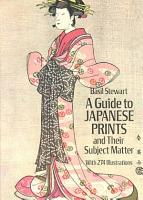 A Guide to Japanese Prints and Their Subject Matter PDF