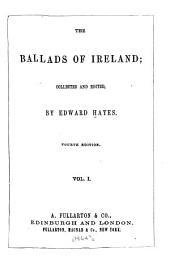 The Ballads of Ireland: Volume 1