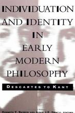 Individuation and Identity in Early Modern Philosophy PDF