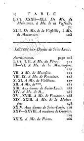 Mémoires et lettres de Mme de Maintenon: Volume9