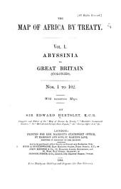 Abyssinia to Great Britain (colonies) Nos. 1-102