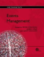 Events Management PDF