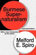 Burmese Supernaturalism