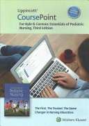 Essentials of Pediatric Nursing Lippincott CoursePoint Access Code