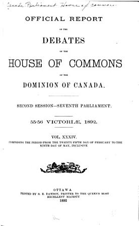House of Commons Debates  Official Report PDF