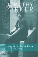 Dorothy Parker  Complete Broadway  1918   1923 PDF