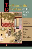 The Plum in the Golden Vase or  Chin P ing Mei  Volume Five PDF