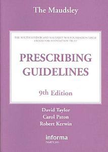 The Maudsley Prescribing Guidelines PDF