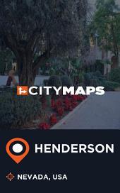 City Maps Henderson Nevada, USA