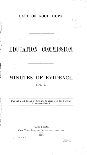 Minutes of Evidence