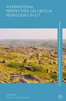 International Perspectives on Critical Pedagogies in ELT PDF