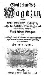 Stoctholmisches Magazin