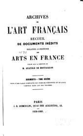 Archives de l'art français: Volume 11