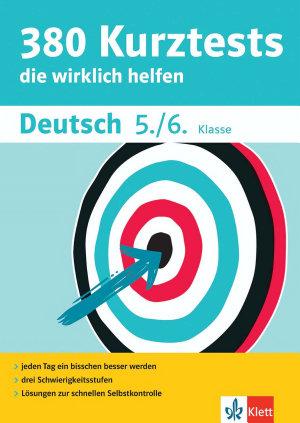 380 Kurztests Deutsch 5  6  Klasse PDF