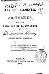 Tratado elemental de aritmética: dispuesto para uso de la juventud