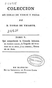 Coleccion de obras en verso y prosa: Volumen 2