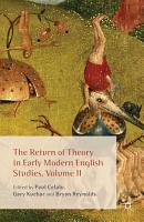 The Return of Theory in Early Modern English Studies PDF