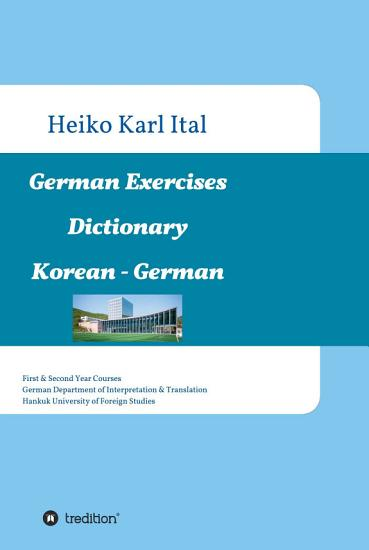 German Exercises Dictionary PDF