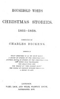 HOUSEHOLD WORDS CHRISTMAS STORIES PDF