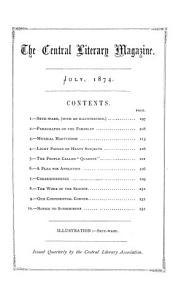 The Central literary magazine PDF