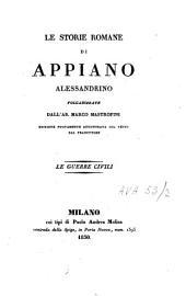 Le storie romane di Appiano Alessandrino: Volume 2