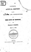 Auditor s     Annual Report of the Receipts and Expenditures of the City of Boston  and the County of Suffolk  for the Financial Year     PDF